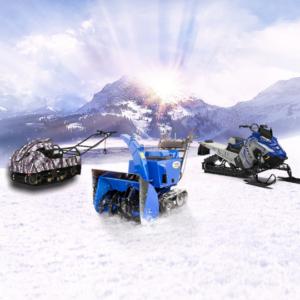 Véhicules et machines d'hiver