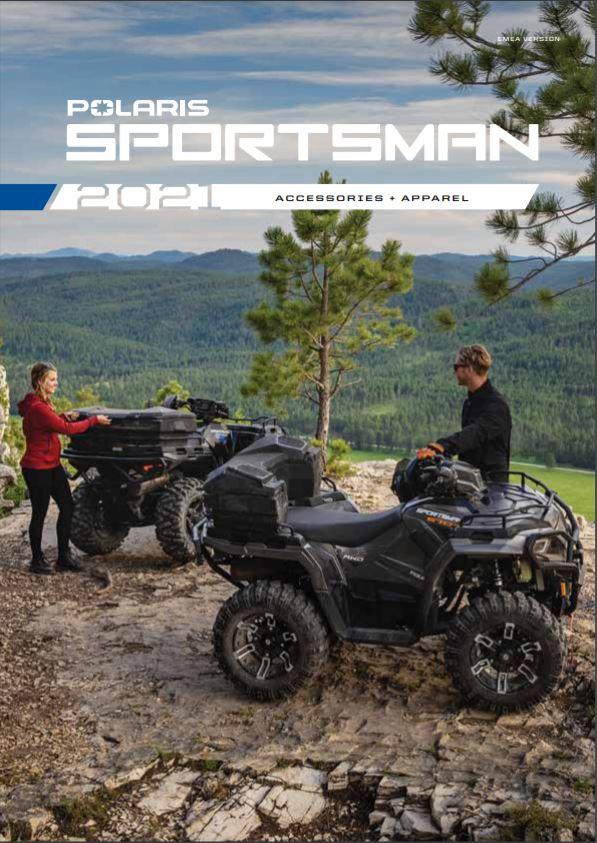 Catalogo Parts & Accessories Polaris Sportsman 2021